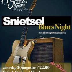 Snietsel Bluesnight poster